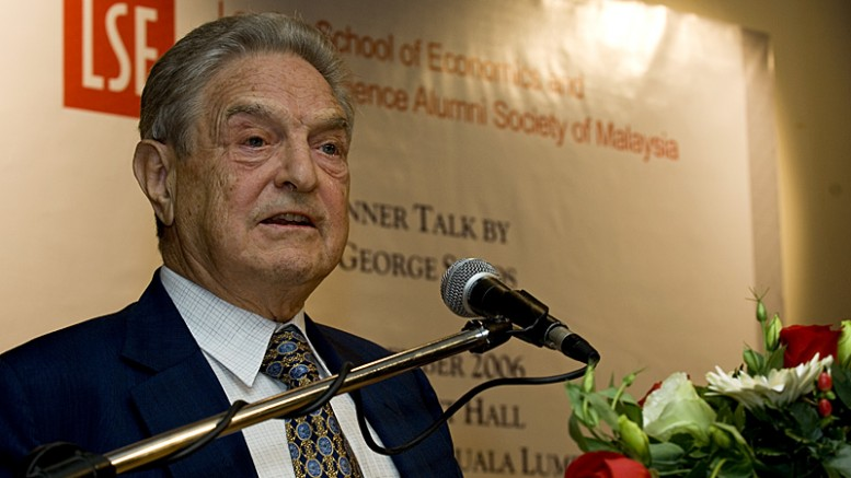George Soros: the self-proclaimed 'God' who should be in prison